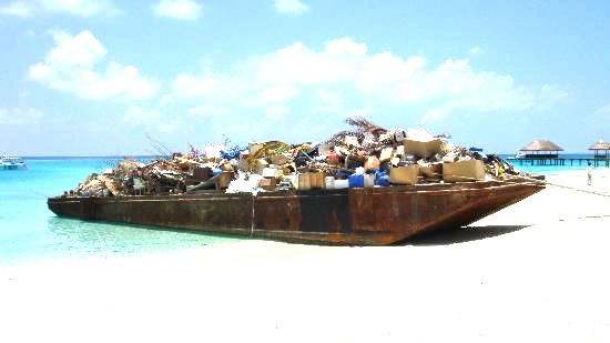 garbage-barge