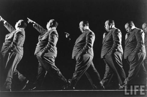 Alfred Hitchcock taken by Gjon Mili, 1942